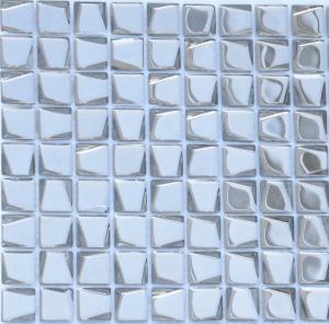 Мозаика Argento trapezio 20x20x6