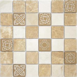 Мозаика Art Pietra Mix 1 MAT  48x48x8