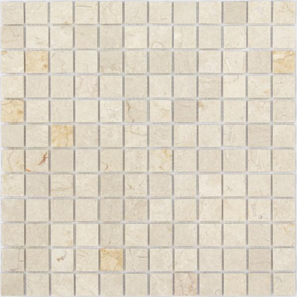 Мозаика Botticino MAT 23x23 толщина 4 мм