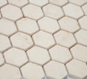 Мозаика Botticino MAT hex 18x30х6