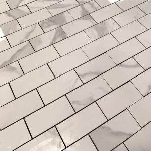 Мозаика Calacatta 48х98, полированная