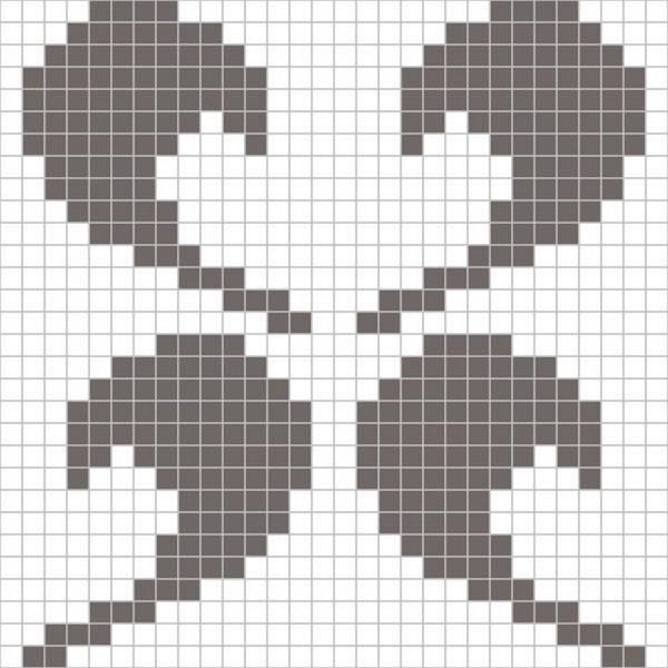 Панно из мозаики D-02 GM&White A