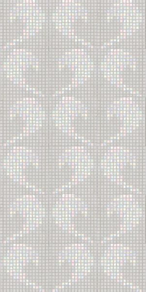 Панно из мозаики D-02 White A