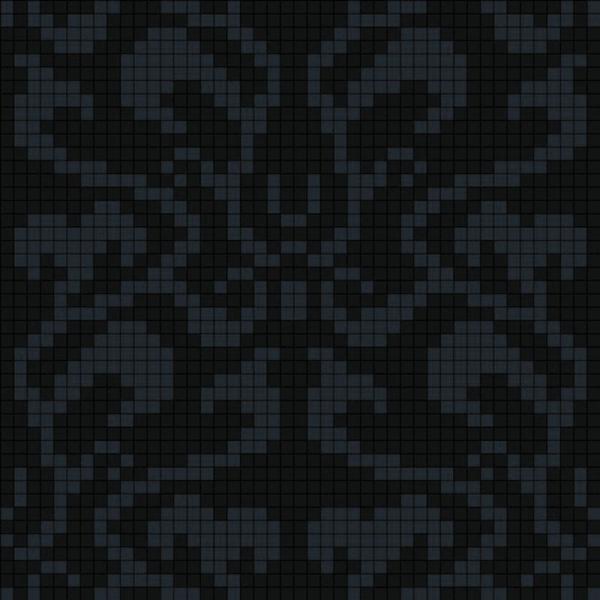 Панно из мозаики D-03 Black B