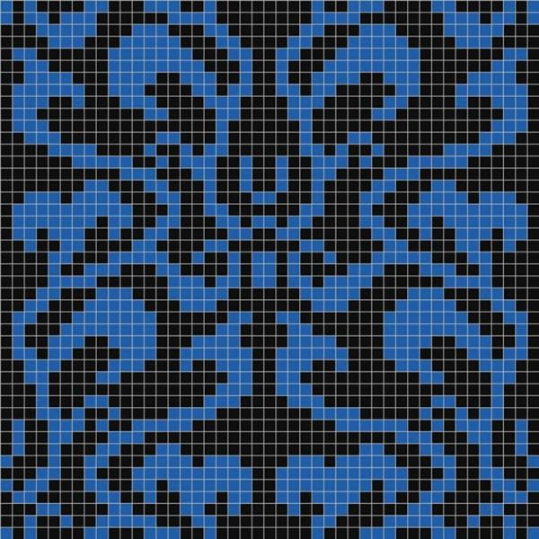 Панно из мозаики D-03 Dark B