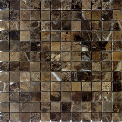 Мозаика Emperador Dark 23x23x7