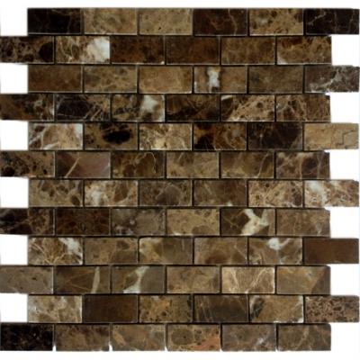 Мозаика Emperador Dark 23x48