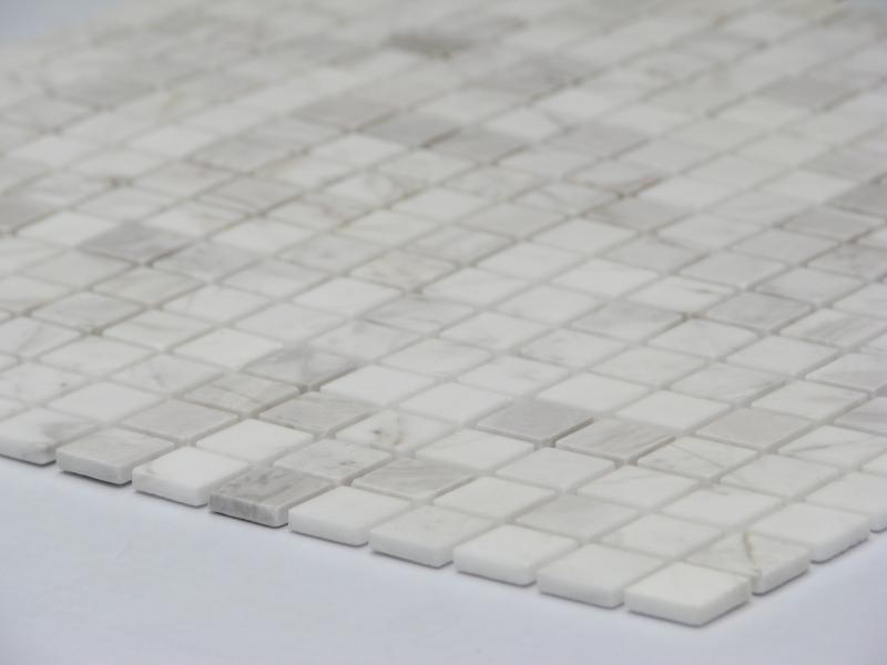 Мозаика Dolomiti Blanco 15x15 POL толщиной 4 мм