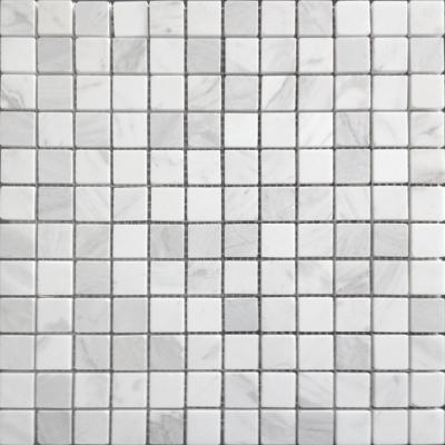 Мозаика Dolomiti Blanco MAT 23x23 толщиной 4 мм