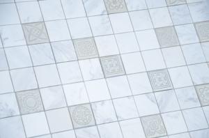 Мозаика Art Dolomiti bianco MAT 48x48x8