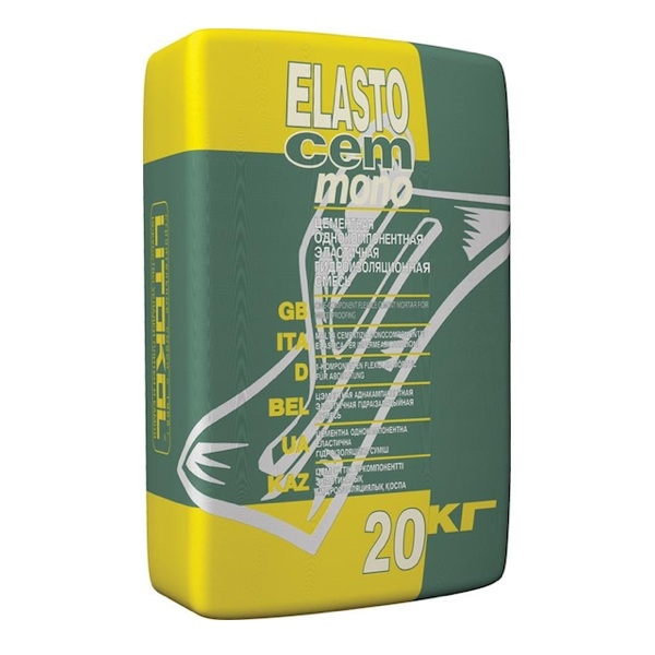 Гидроизоляционный состав ELASTOCEM  MONO