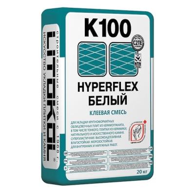 Клеевая смесь суперэластичная HYPERFLEX K100 Белый