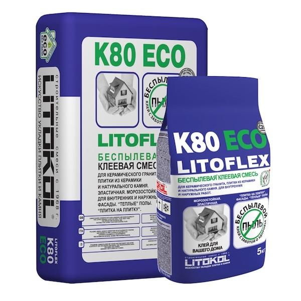 Клеевая смесь LITOFLEX K80 ECO 25 кг