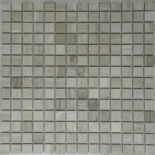 Мозаика M006P/Perlino Bianco