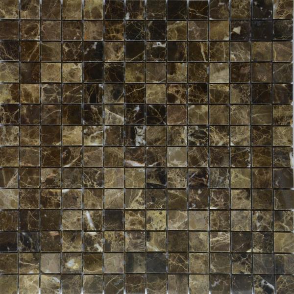 Мозаика M009P/Dark Emperador