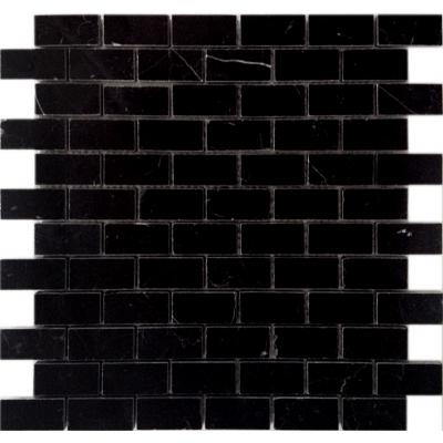 Мозаика Nero oriente 23x48