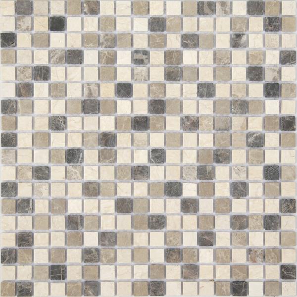 Мозаика Pietra Mix 1 MAT 15x15 толщина 4 мм