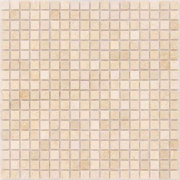 Мозаика Botticino 15x15 POL толщина 4 мм