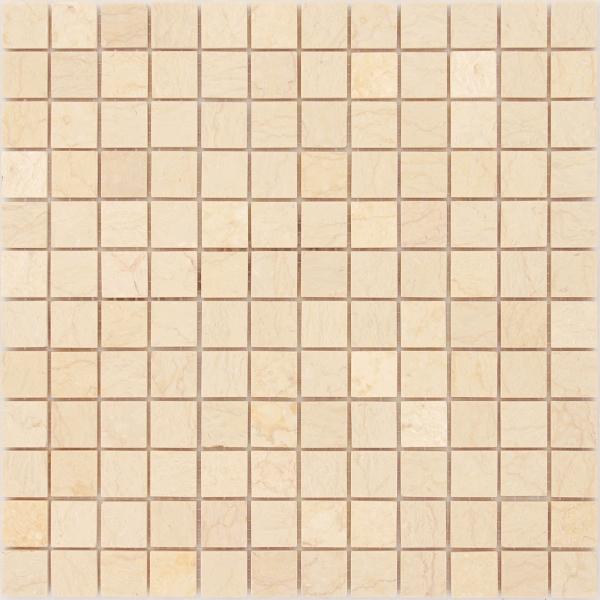 Мозаика Botticino 23x23 POL толщина 4 мм