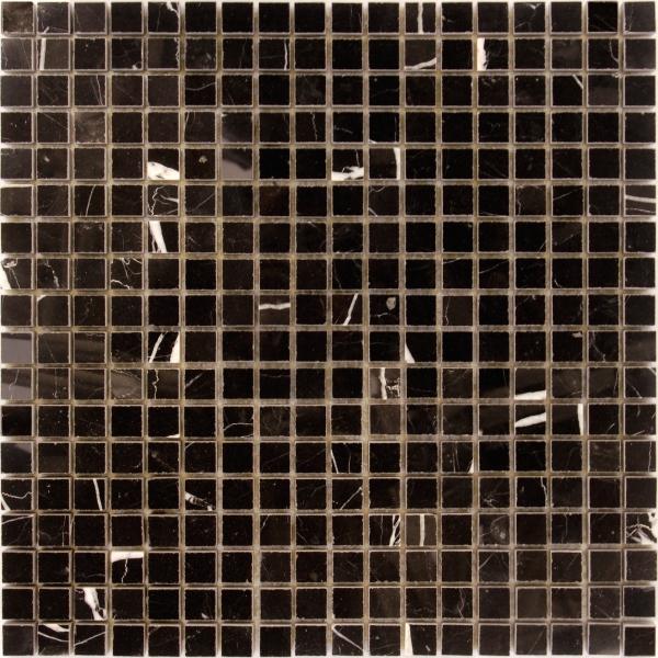 Мозаика Nero oriente POL 15x15x7
