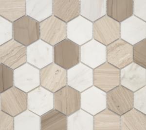 Мозаика Pietra Mix 3 MAT hex  18x30x6