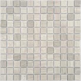 Мозаика Travertino Silver MAT 23x23 толщиной 4 мм